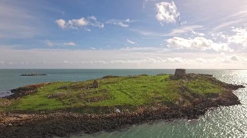 go sailing Dalkey island